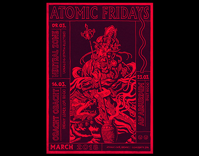 Atomic Fridays – March 2018
