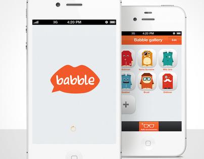Babble iPhone app
