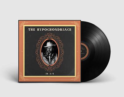 The Hypochondriacs - In 3/4   Album Cover