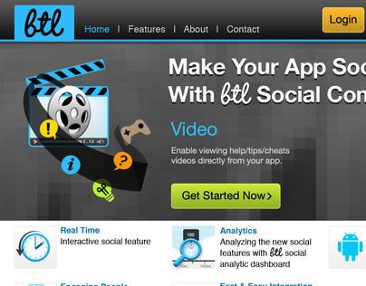 BTL - Web site design & Back office web system