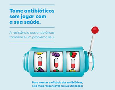 Pfizer / Campanha Resistência Antibióticos