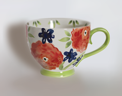 Photo Realism Tea Cup