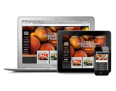WholeFoodsMarket.com Redesign