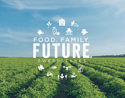 Food. Family. Future. Web Promotion