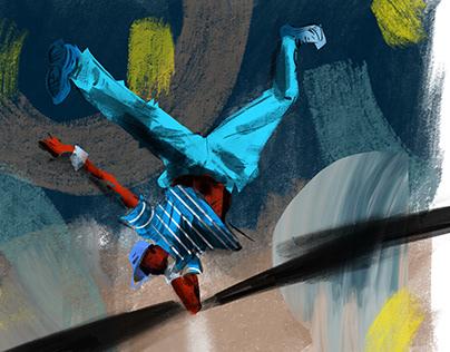Dancer - Illustration
