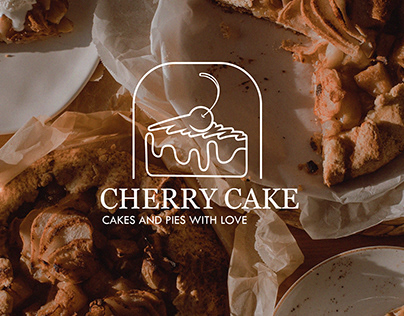 "Logo ""Cherry cake"""