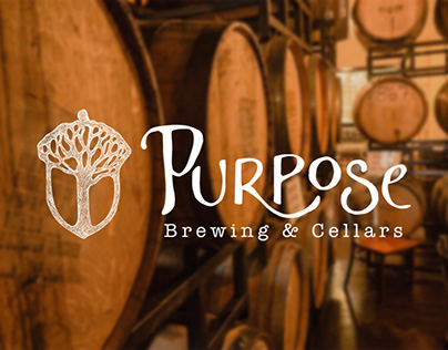 Purpose Brewing Logo and Photography