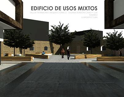 EDIFICIO DE USOS MIXTOS