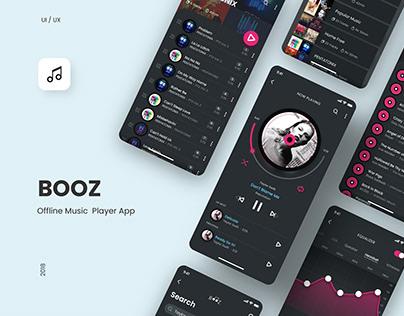 BOOZ : Music Player App