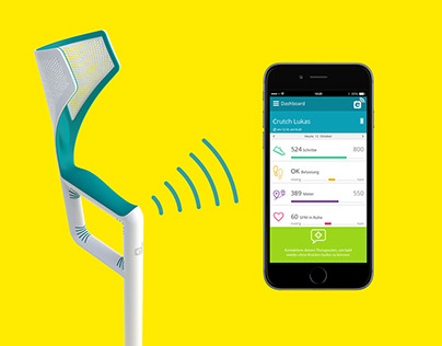 Werksdesign introduces first smart walking aid with app