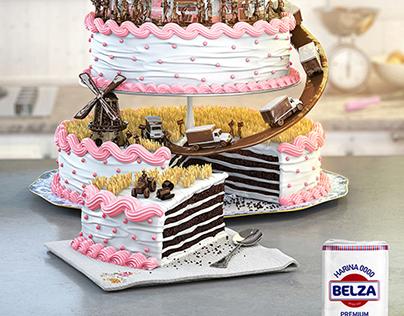 BELZA Flour Illustration