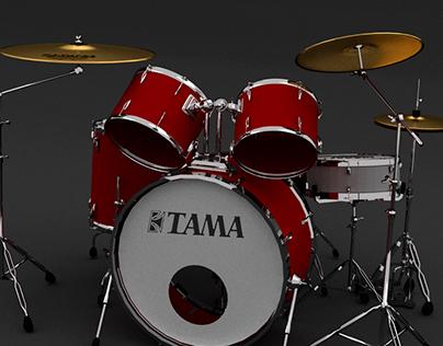 Modélisation produit : batterie Tama