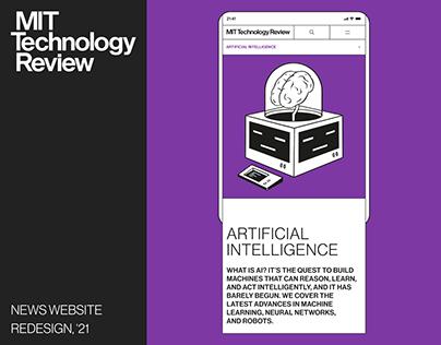 MIT Technology Review ❖ MAGAZINE '21
