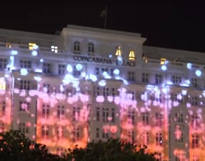 Copacabana Palace Videomapping, 2018