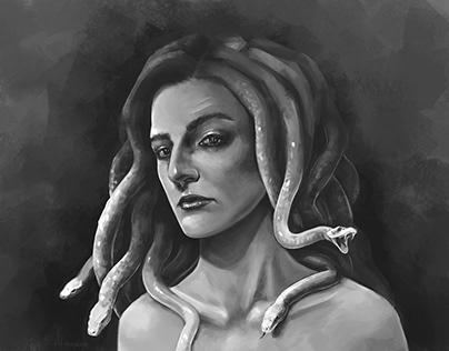 Medusa. Self Portrait