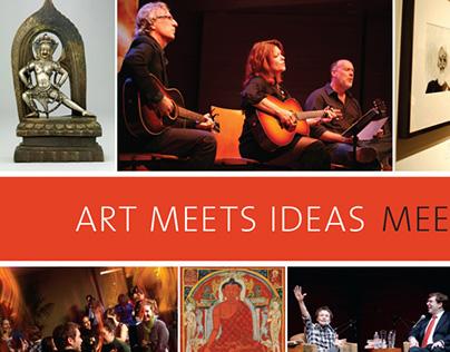 Magazine Ad Design for Rubin Museum of Art