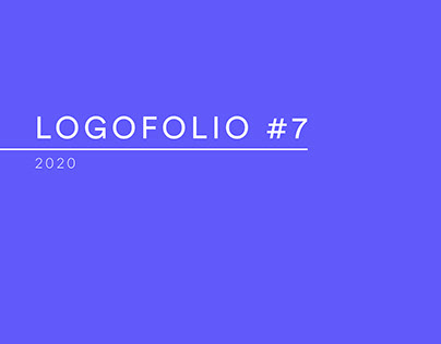 Logofolio #7 - 2020