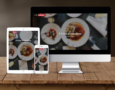Il Fonti Di Modena - Sitio Restaurant Site Concept