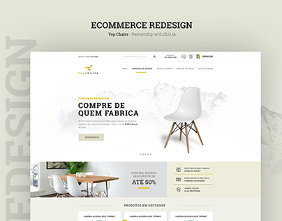 Ecommerce Redesign - Topchairs