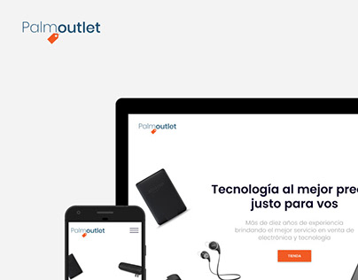Palmoutlet - Online Store Redesign