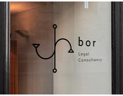 """""""bor"""" Legal Consultancy, Branding"""