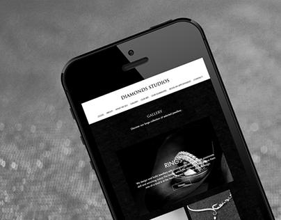 Diamondsstudios - Jewellery website UK
