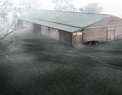 spa pavilion in sopot