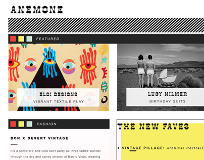 Anemone: A Fashion, Photography, & Lifestyle Website
