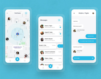 Best Chat UI Designs for Mobile App