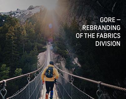 GORE – Rebranding of Fabrics Division