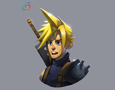 Cloud Strife Fan Art Demo Pack