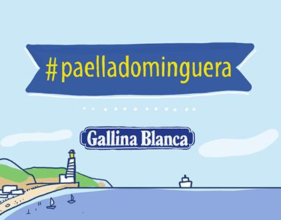 Paella Dominguera // Gallina Balnca