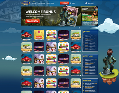 CASINO WEBSITE DESIGN AND DIRECTION