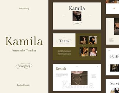 Kamila Presentation Template