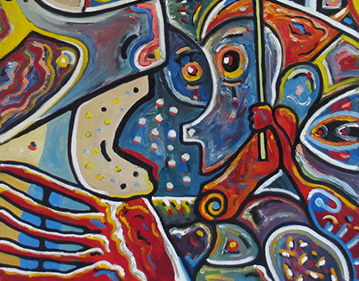 Paintings - series 9