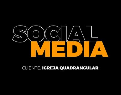 SOCIAL MEDIA - IGREJA QUADRANGULAR