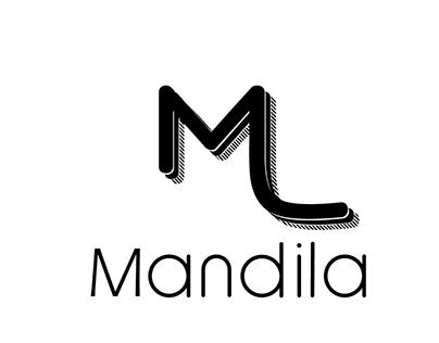 mandila logo brand
