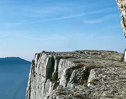 aloft, Italian Mountains