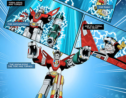 "Voltron ""It never gets old"""