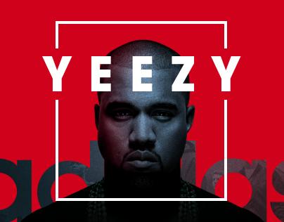 Adidas Yeezy Microsite