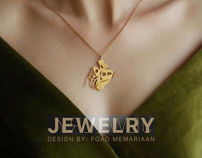 Calligraphy Jewelry Design