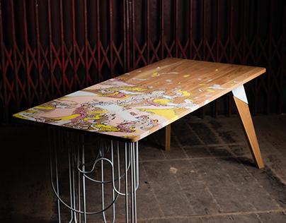 P R I V A T E desk //// alesha & Qullar design