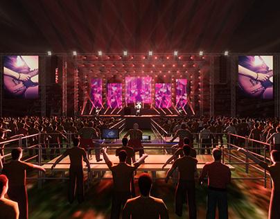 LIVE Concert Stage