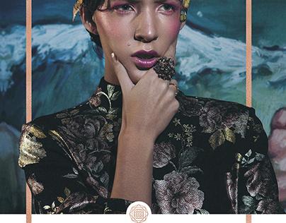 Elegant Magazine Fashion Editorial