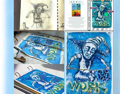 BE ON YOUR CRAFT (Illustration,magazine design)
