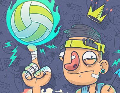 Volley King / Drawlympics