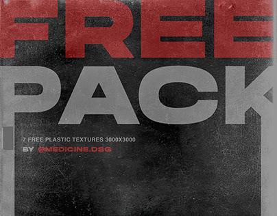 FREE 7 Plastic Textures/Mockup