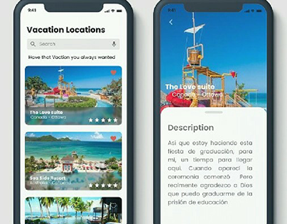 Vacation Selector