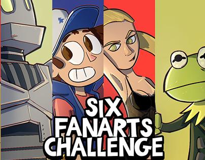 Six Fanarts Challenge 2020