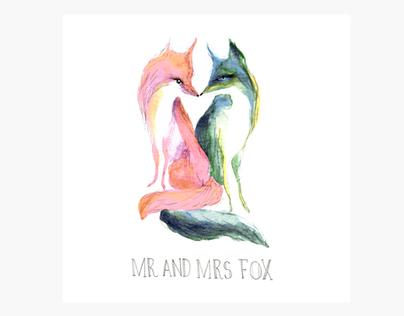 Wedding Stationery: Carly & Anthony Fox